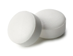 Two aspirin pills for a face masque recipe