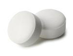 Two aspirin pills for a face masque recipe