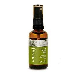 Bottle of Botani Soothing Facial Mist with Rose Water, Chamomile and Aloe Vera