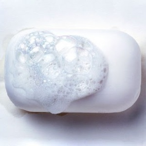 Soap Bar with Suds