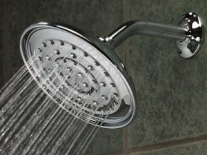 Showerhead running