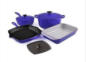 Le-Creuset Cast Iron Cookware Set