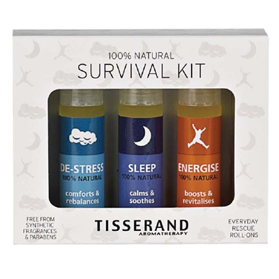 Tisserand Aromatherapy Roller Ball Survival Kit