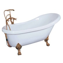 Cast iron bath tub