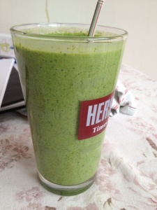 Dee Green Smoothie Challenge