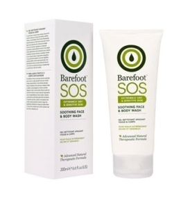 Barefoot Botanicals SOS Soothing Face and Body Wash 200mL