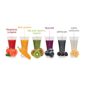 Kuvings Silent Juicer Phyto Nutrients Chart