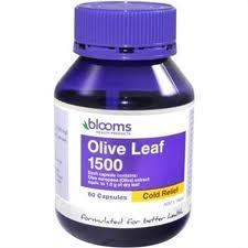 Blooms Olive Leaf 1500 60 capsules