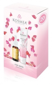 Kosmea Rose Collection with Rose Hand Cream and Limited Edition Rose Hip Oil