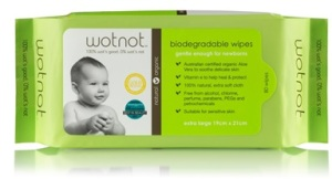 Wotnot Biodegradable Baby Wipes 80 Pack