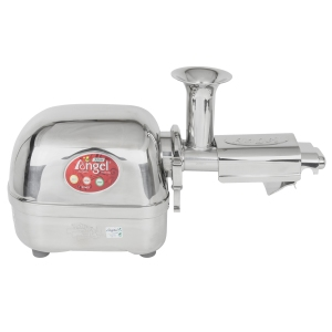 Angel 5500 Stainless Steel Twin Gear Juicer