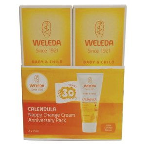 Weleda calendula nappy change cream anniversary pack 2x75mL
