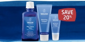 Weleda Men's facial care Father's day promotion 2015