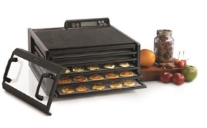 Excalibur 5 Tray Food Dehydrator with 48 Hour Digital Timer with dried foods