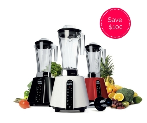 BioChef Living Food Blenders in all colours, with a $100 discount offer