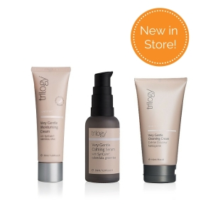 Trilogy New in Store very gentle products (moisturiser, serum and cleanser)