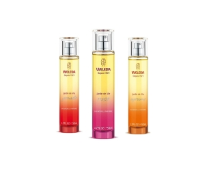 Weleda Jardin de Vie Natural Perfumes Rose, Grenade and Agrume