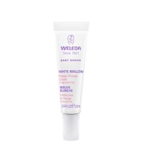 Weleda Nappy Change Cream White Mallow 10mL Mini Tube