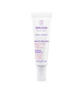 Weleda Nappy Change Cream White Mallow 10mL Mini Tube
